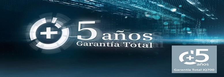 SIEMENS PROMOCION 5 AÑOS GARANTIA TOTAL